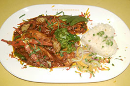 Nepali Chicken or lamb